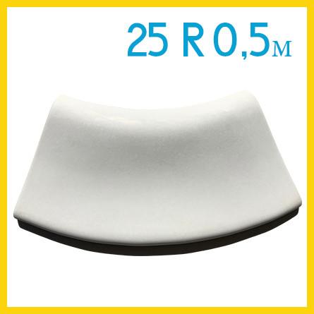 Радиусный копинговый камень 25см R-0,5м