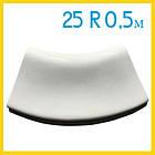 Радиусный копинговый камень 25см R-0,5м бортовой для бассейна, фото 2