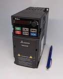 Перетворювач частоти MS300, 3х380В, 2,2 кВт, 5,5 /6,5 А, ЕМС С2 фільтр, векторний, c ПЛК, VFD5A5MS43AFSAA, фото 2