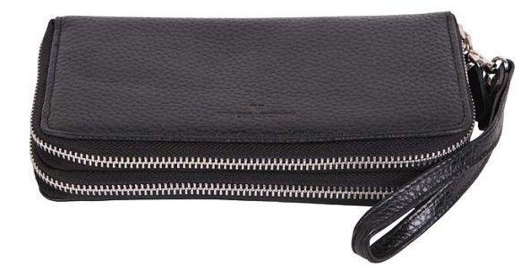 Барсетка-гаманець жіночий Vip Collection 1501.A.FLAT чорний