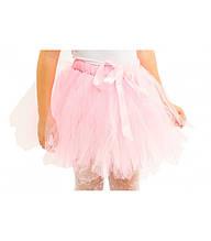 Для девочки с фатина юбка-пачка ТУ-ТУ детская размер универсальный от 2 до 6 лет нежный розовый цвет