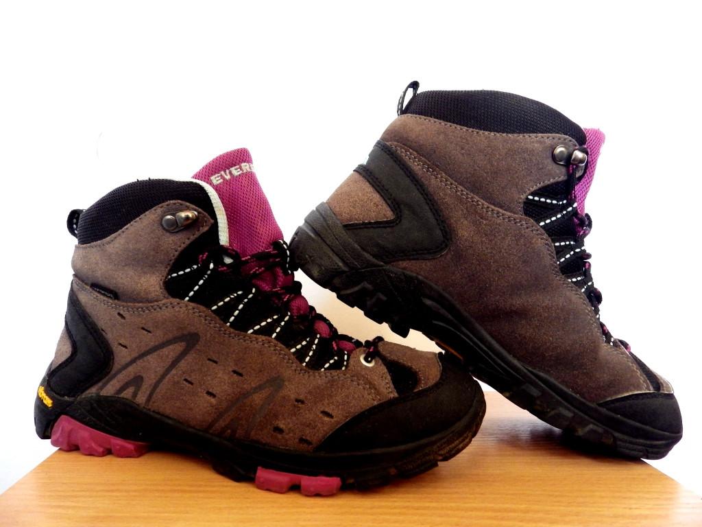 Детские термо ботинки Everest WaterTex (подошва Vibram) 100% Оригинал р-р 36 (23 см) (сток, б/у) трекинговые