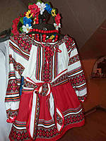Украинский костюм детский для девочки , двойка , продажа прокат