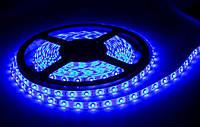 Лента светодиодная 2835 ip65 8мм 120 диод./м 12 вт/м синий свет 220в
