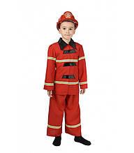 Костюм детский Пожарного в комплекте с игровым набором, карнавальный