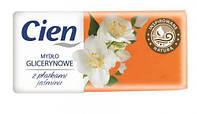 Мыло Cien глицериновое с жасмином, 75 г
