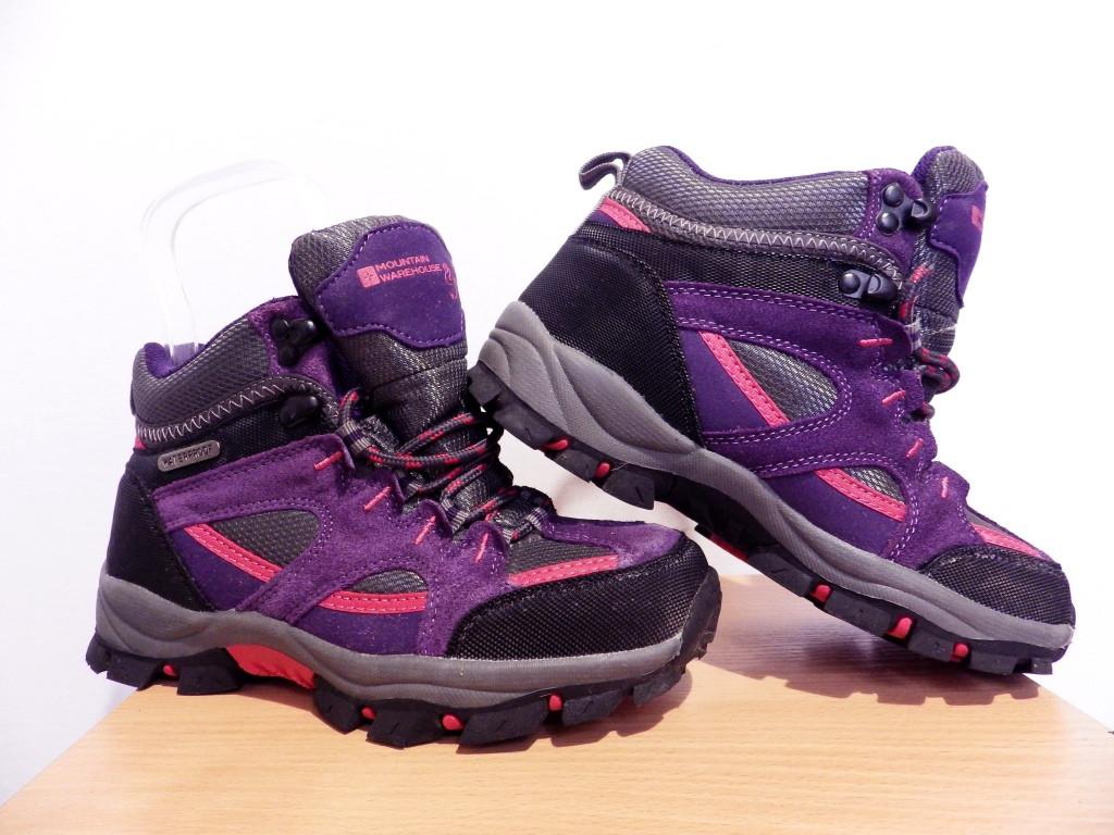Детские демисезонные ботинки Mountain Warehouse 100% Оригинал р-р 35 (22 см) (сток, б/у)