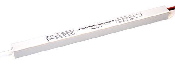 Блок питания 12V 60W (5A) slim