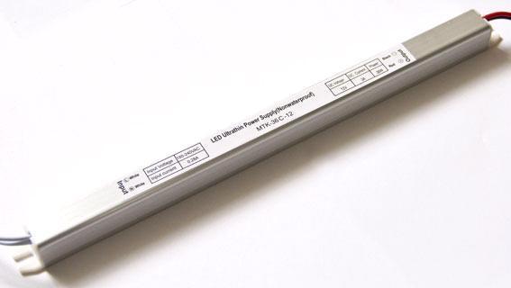 Блок питания 12V 36W (3A) slim-с