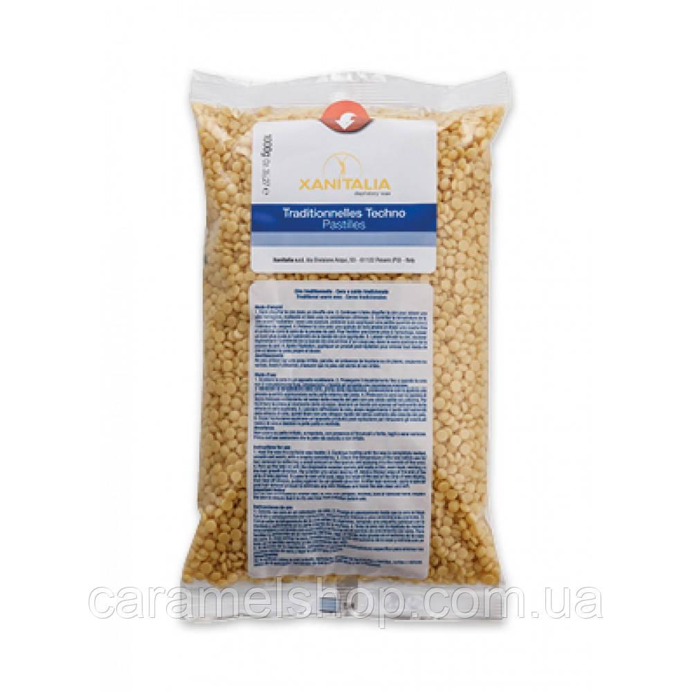 Воск горячий в гранулах для депиляции Xanitalia натуральный 1 кг 1000 г