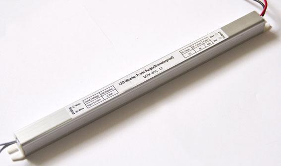 Блок питания 12V 48W (4A) slim-с