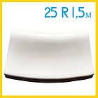 Радиусный копинговый камень 25см R-1,5м бортовой для бассейна, фото 3