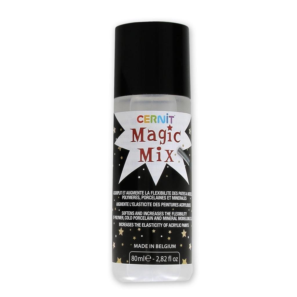 Новинка! Размягчитель полимерной глины жидкий Magic Mix, пр-ль Цернит Cernit, 80мл