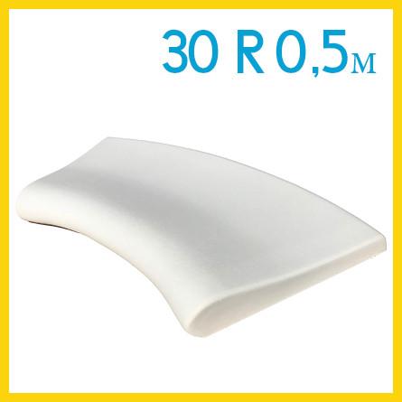 Радиусный копинговый камень 30см R-0,5м