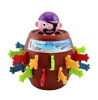 Настольная детская игра Пират в бочке оригинальный подарок на день рождения