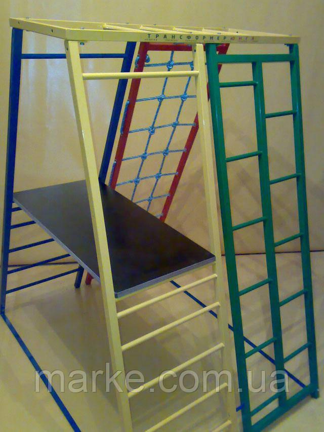 Детский спортивный комплекс Юнга 2в1 ( шведская стенка ) полная комплектация ( спортивний куточок )