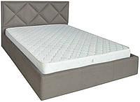 Кровать двуспальная Лидс металл, да, 160х200 Фибрил 12