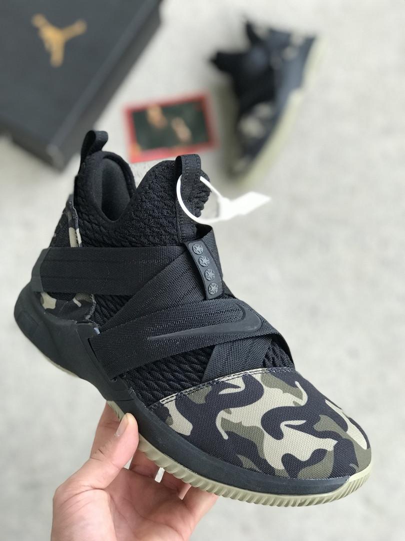 51cb2d1d Баскетбольные кроссовки Nike LeBron James XII (в стиле Найк Леброн)  камуфляжные, цена 1 609 грн., купить в Киеве — Prom.ua (ID#851462869)