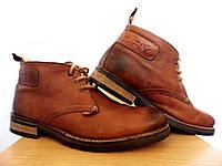 Мужские кожаные ботинки Superdry 100% Оригинал р-р 42 (28 см) (сток, б/у) демисезонные , фото 1