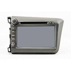 Штатная магнитола Globex GU-H823 дисплей 8 дюймов для Honda Civic 2012 (16709)