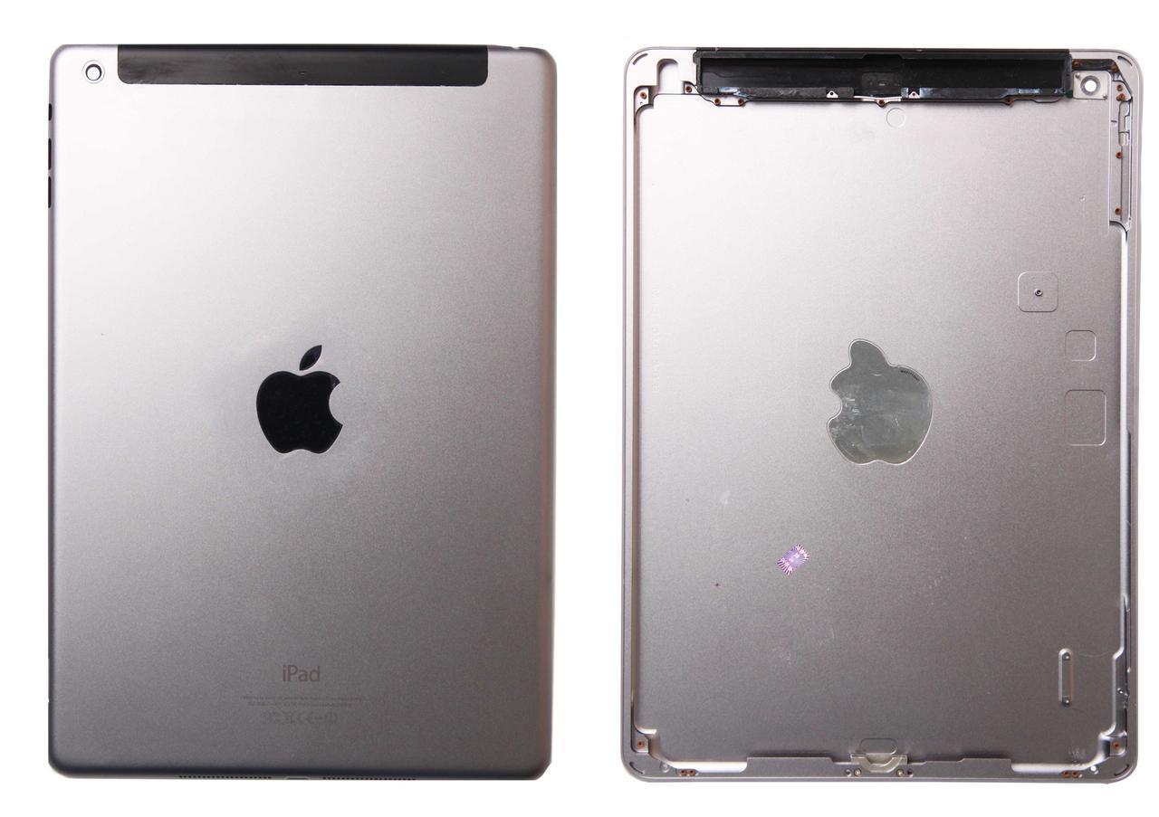 Задня кришка для Apple iPad Air (iPad 5), чорна, версія 3G