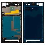 Рамка кріплення дисплея для Sony Xperia Z1 C6902 L39h, C6903, C6906, C6943, чорна