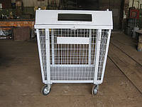 Контейнер на колесах для пластиковых отходов