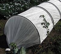 Мини теплица 10 метров с агроволокном и клипсами