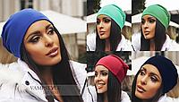 Модна жіноча шапка, різні кольори