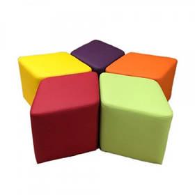 Комплект детских пуфов Ромб 5 шт. Детская мягкая мебель