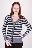 Женская полосатая кофта цвета в ассортименте, фото 1