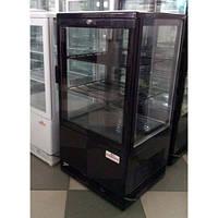 Настольный шкаф RT58L-1D, BLACK FROSTY (холодильный кондитерский)
