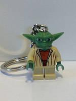 Брелки для ключей Star Wars Lego Йода, Штурмовик, Люк Скайуокер, Шаак Ти, Дарт Мол,, фото 1