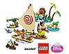 Конструктор JVToy 15004 Морское путешествие Моаны 399 деталей (аналог Lego Disney Princess лего)