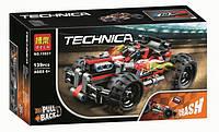 """Конструктор Bela 10821 """"Красный гоночный автомобиль"""" (реплика Lego Technic 42073), 139 дет"""