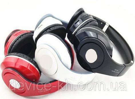 """Беспроводные Bluetooth Наушники """"Headphone TM 003-S"""" С Поддержкой: Bluetooth /MP3/ FM / AUX / SD Card"""