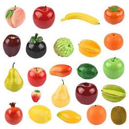 Искусственные фрукты и овощи