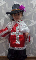 Карнавальное костюм Мушкетер разных цветах 3-8 лет, фото 1