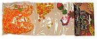 Набор Трио для плетения браслетов  желто-оранжевый (Rainbow Loom)