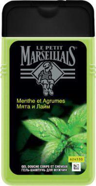 """Гель для душа мужской """"La Petit Marseilliais"""" мята и лайм (250 мл.)"""