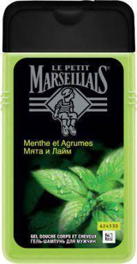 """Гель для душа мужской """"La Petit Marseilliais"""" мята и лайм (250 мл.), фото 2"""