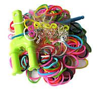 Набор разноцветных резиночек для плетения браслетов (Rainbow Loom)