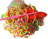 Набор многоцветных резиночек  для плетения браслетов (Rainbow Loom)
