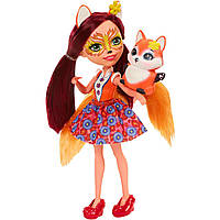 Кукла Фелисити и лисенек Флик Enchantimals, Enchantimals Felicity Fox and Flick , фото 1
