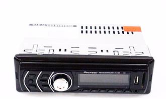 Автомобільна магнітола 1581 USB + підсвітка RGB + Sd+Fm+Aux+пульт (4x50W)