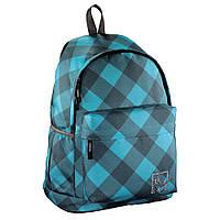 Молодежный рюкзак Hama All Out Luton Blue Dream Check женский