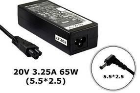 Зарядное устройство сетевой адаптер для ноутбука Lenovo 19V 3.42A 65W штекер 5.5*2.5