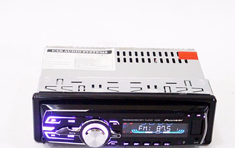 Автомагнітола 3228D USBU (знімна панель + євро роз'єм + підсвітка RGB)