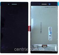 Дисплей (экран) для Lenovo TB3-730X /7304i Tab 3 7.0 леново + тачскрин, черный