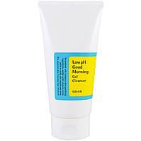 Cosrx low PH Good Morning gel cleanser Гель-пенка с ВНА-кислотами, 150мл.
